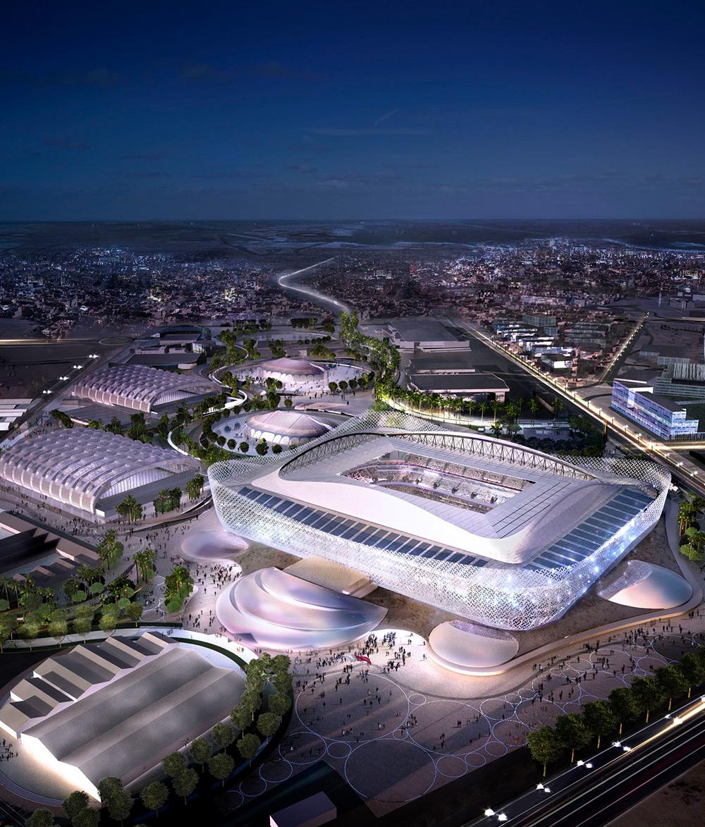 Al Rayan Stadium & Precinct Energy Centre