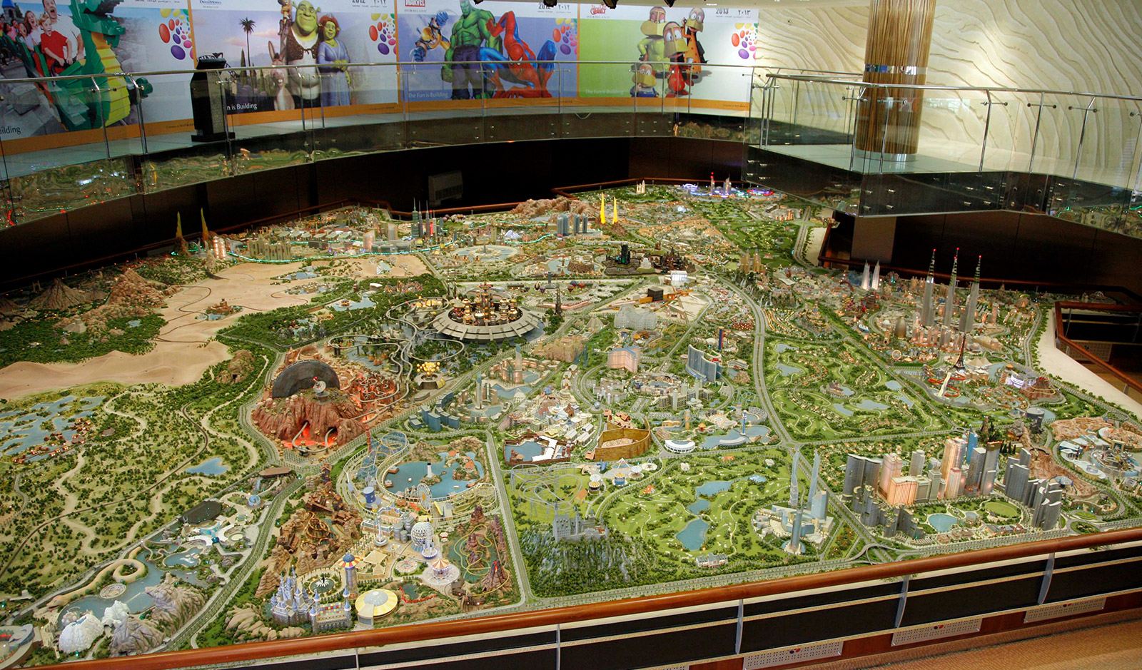 Dubai Land Master Plan