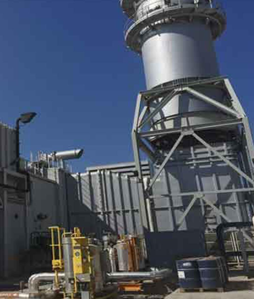 Khor Al Zubair Power Plant Turbine Inlet Cooling