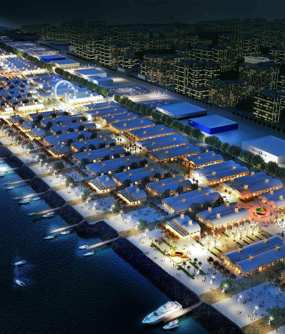Nakheel Night Market & Hotel DCP