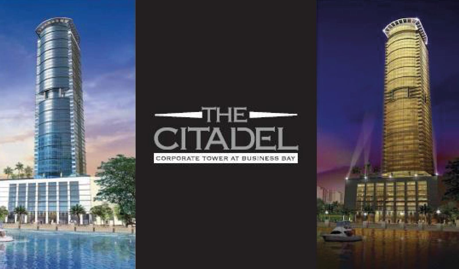 THE CITADEL TOWER Dubai, UAE
